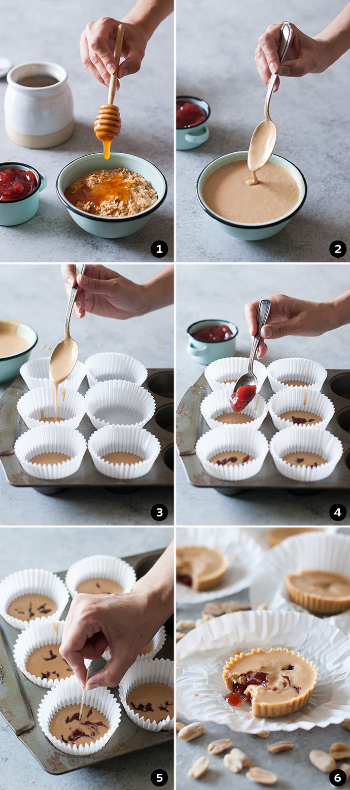Homemade Peanut Butter and Jelly Cups Recipe