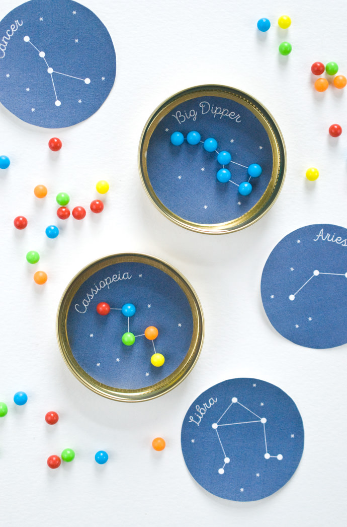 Printable Candy Constellation Game
