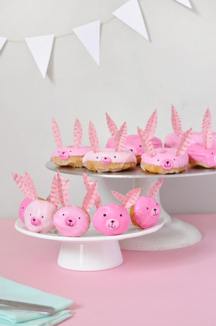DIY Bunny Donuts Tutorial