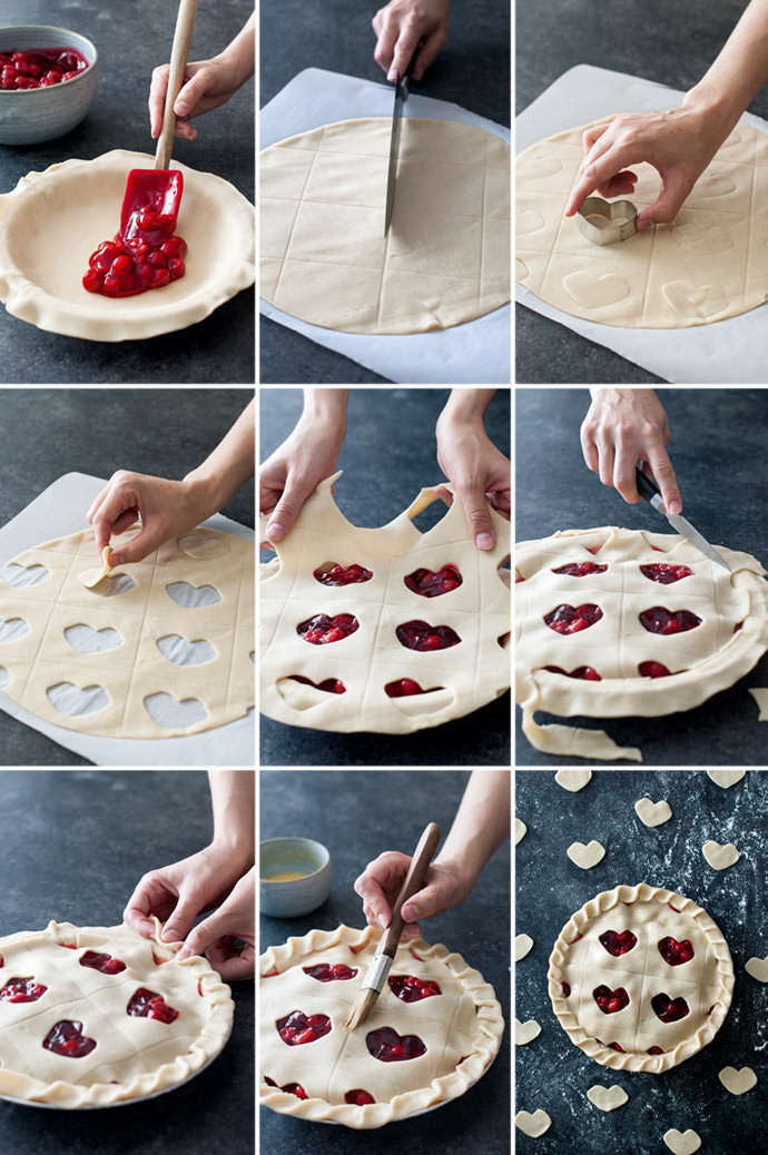 Warhol Lips Pie Crust Tutorial
