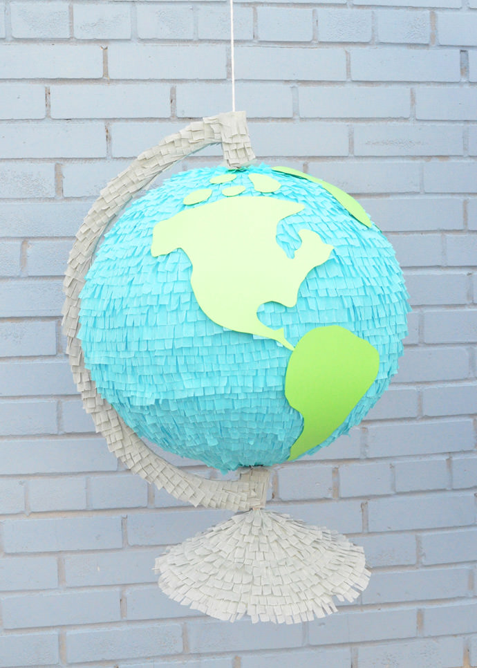 Giant Globe Back-to-School Pinata
