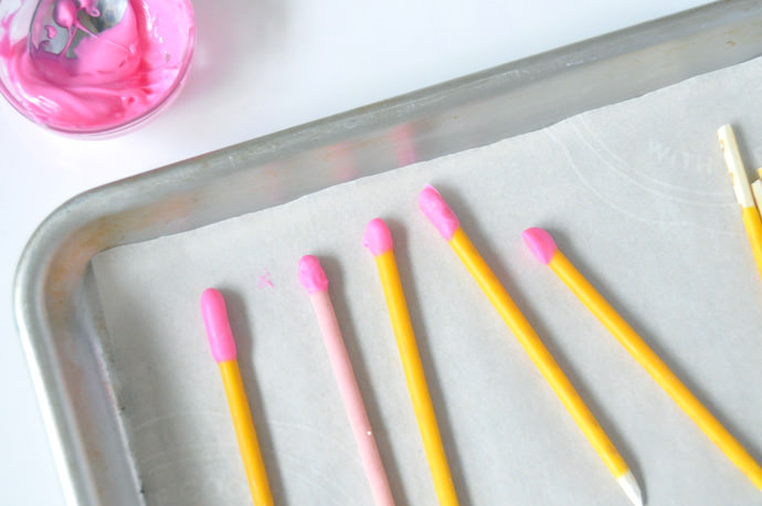 DIY Back-to-School Pocky Pencils