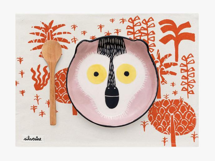 Silvestre Monkey Ceramic Set