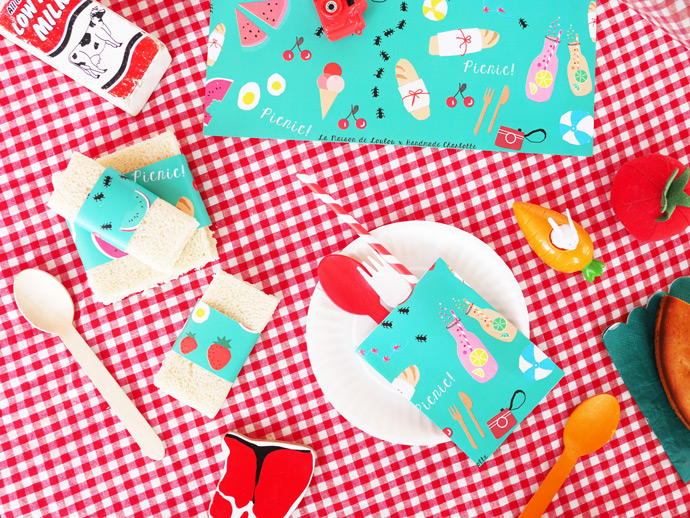 Printable Picnic Set
