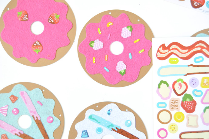 DIY Donut Shop Garland