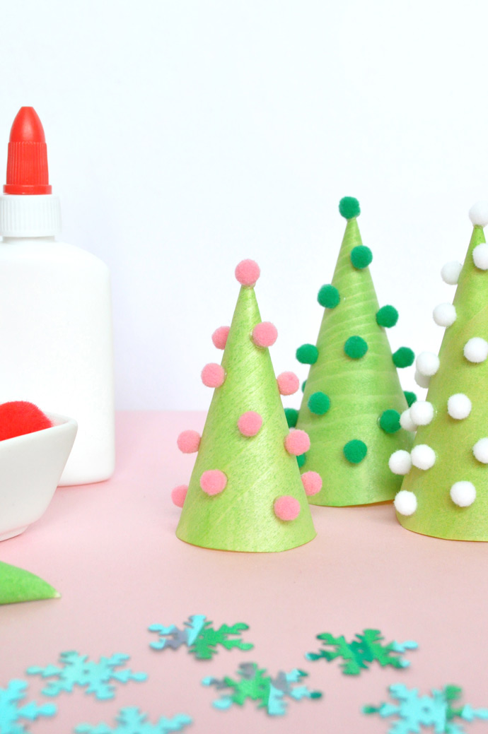 DIY Wooden Christmas Trees