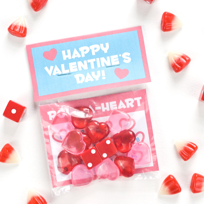 Printable Valentine's Day Game and Party Favor