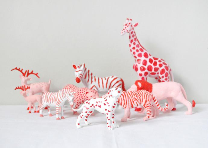 Valentine's Animal Parade
