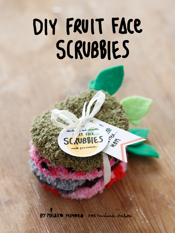DIY Fruit Face Scrubbies