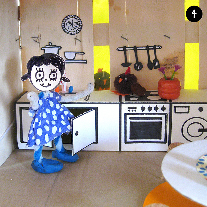 How to Make an Off-the-Grid Dollhouse: Part 8