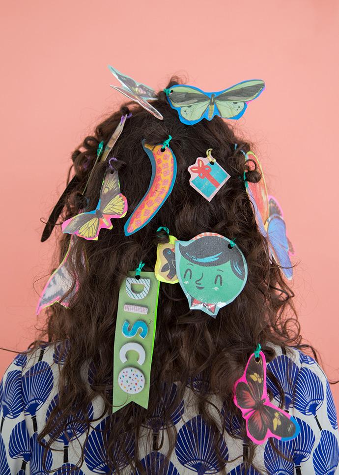 DIY Playful Hair Ties