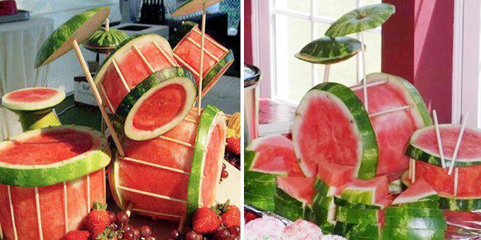 9 Incredible Watermelon Creations
