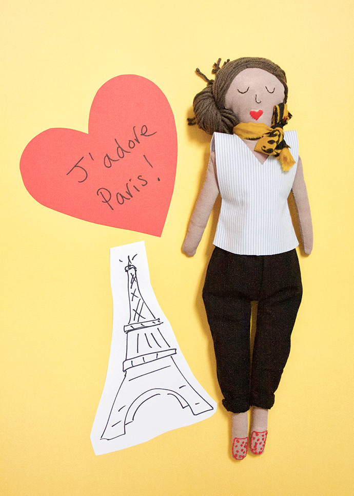 Dolls Around the World: Paris