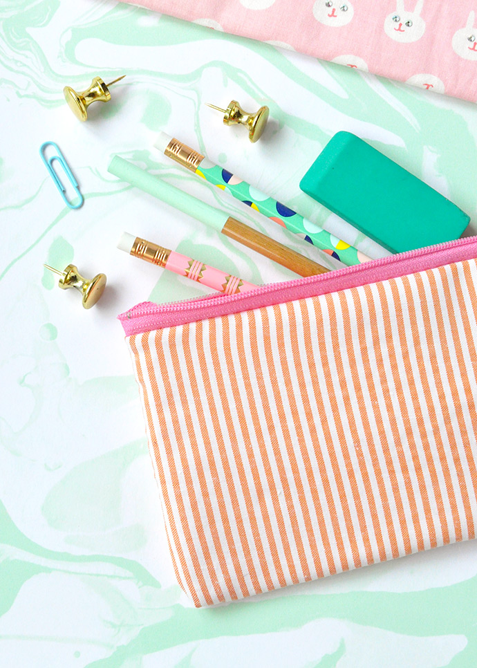 Bedazzled Pencil Cases