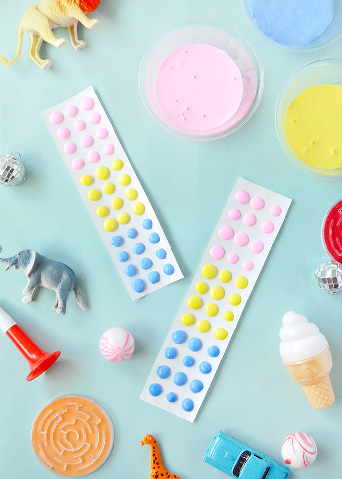 Playing with Slime: Candy Buttons