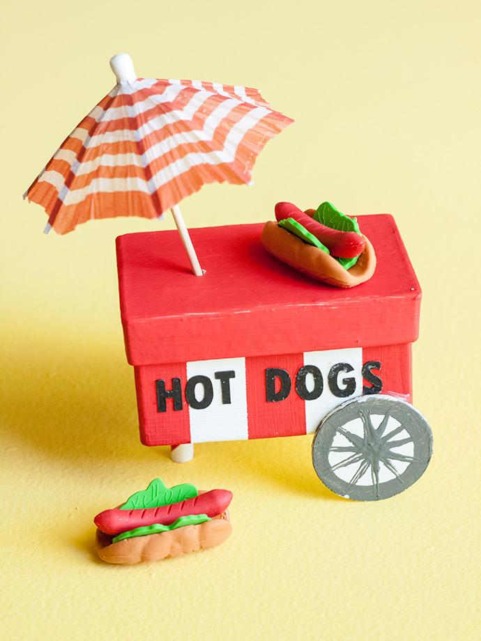 DIY Food Cart Favors