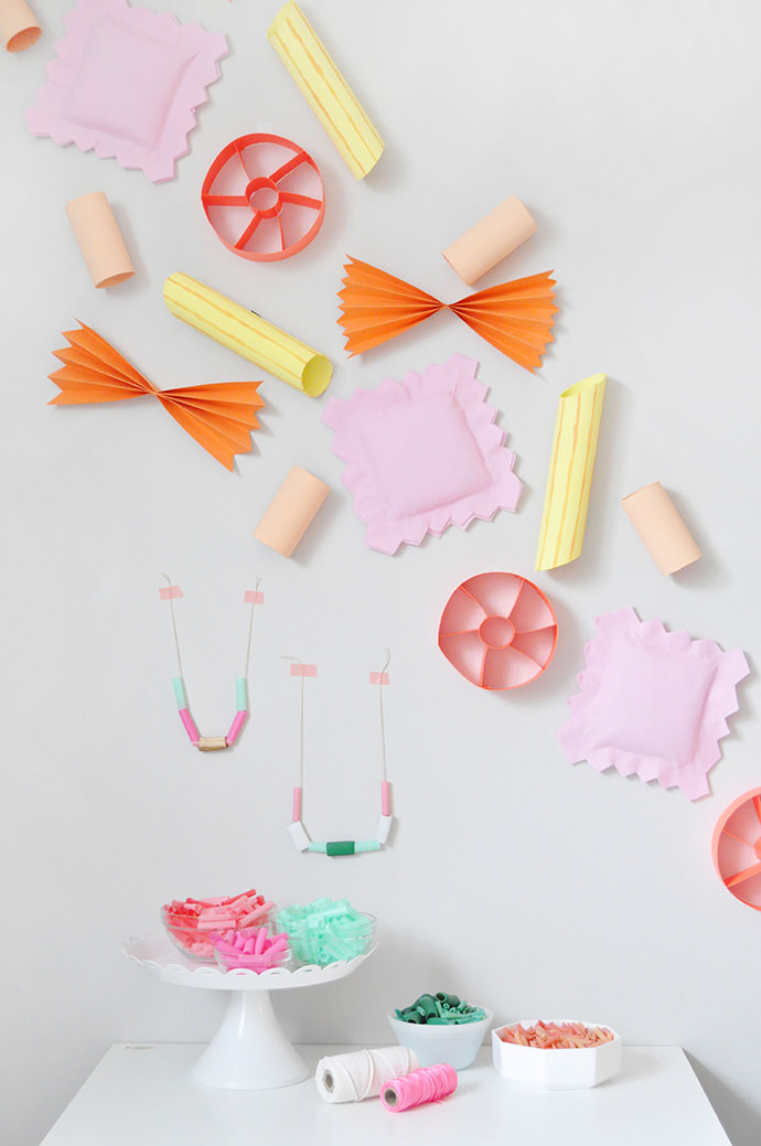 Get Creative with Pasta Crafts