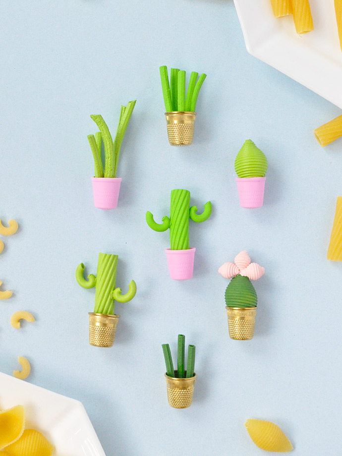 Miniature Pasta Plants