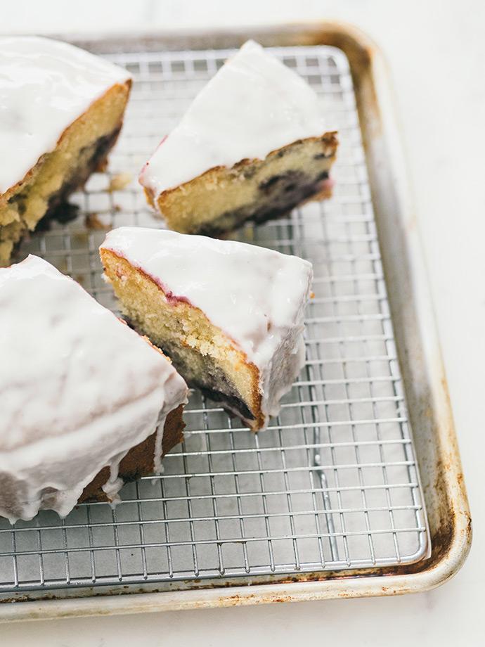 Blueberry Lemon Bundt Cake