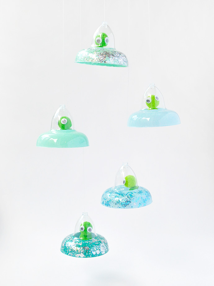 Mini Flying Saucers