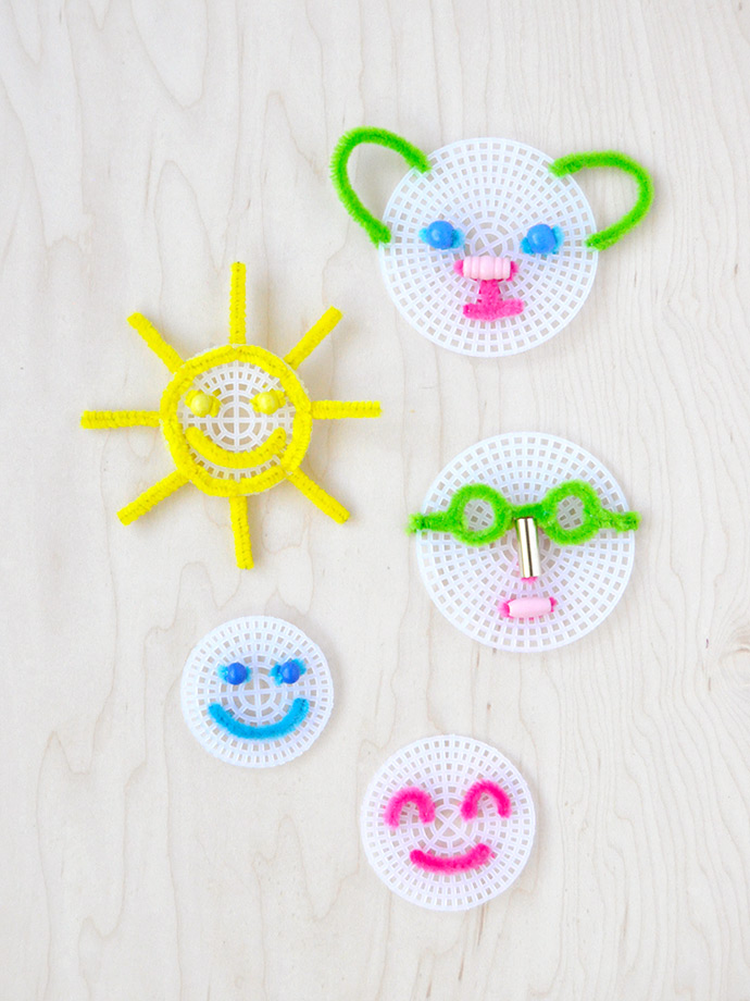 Pipe Cleaner Embroidery