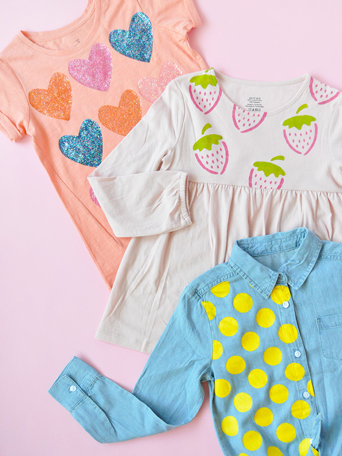 How To Stencil Clothes in 3 Ways