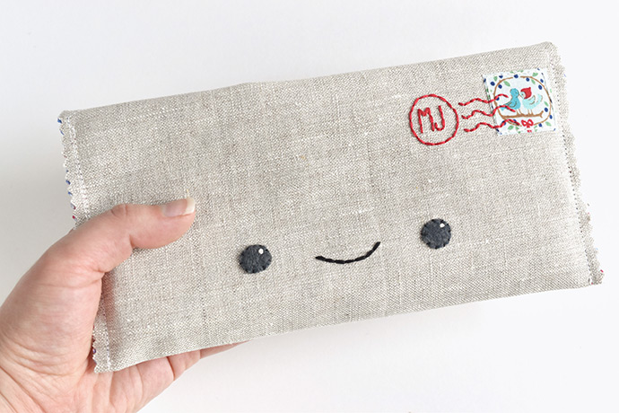 Happy Mail Kawaii Pencil Case