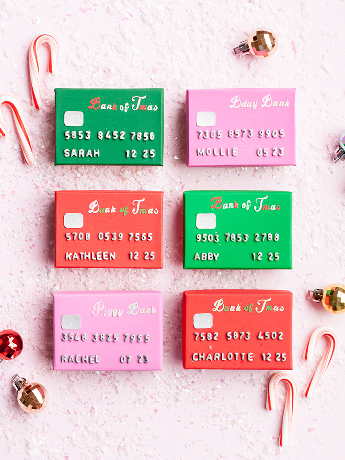 Credit Card Gift Boxes