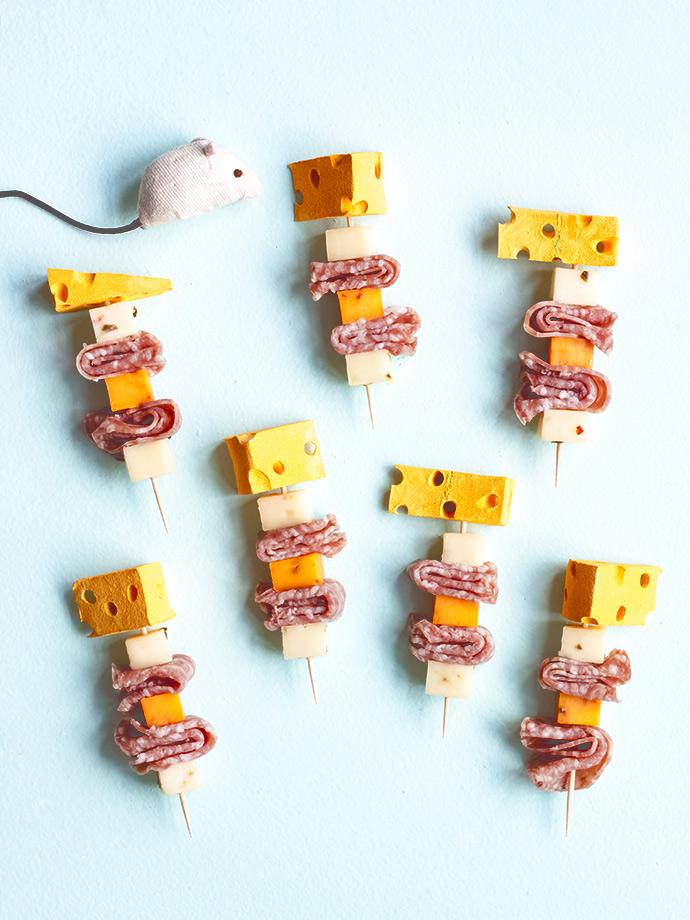 DIY Cheese Skewers