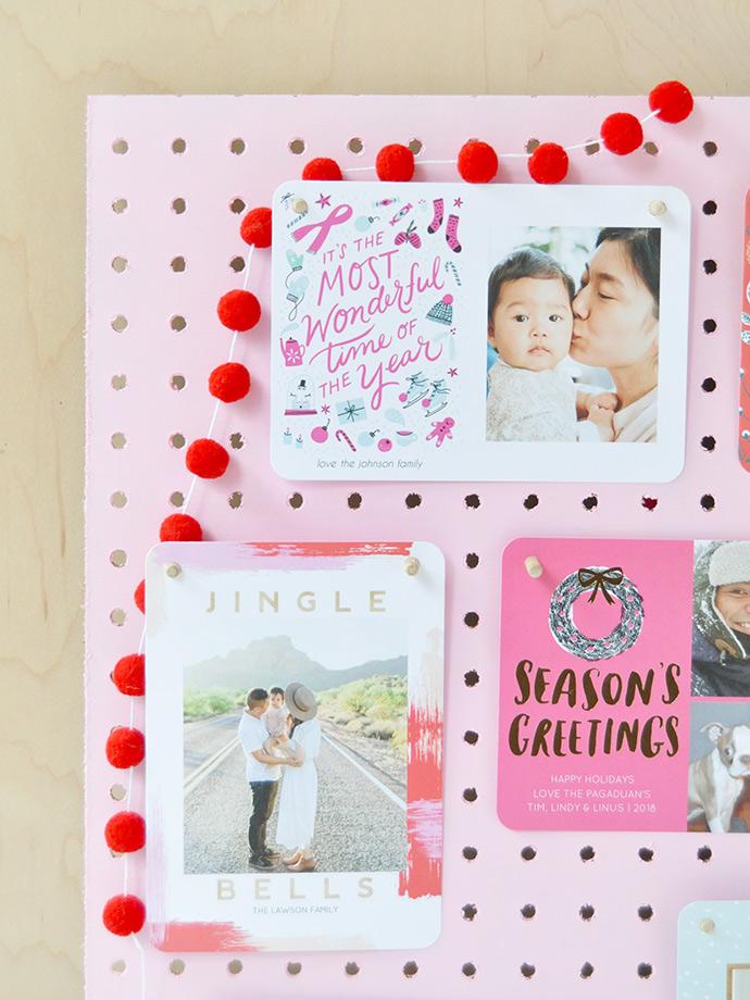 DIY Holiday Card Displays: 3 Ways