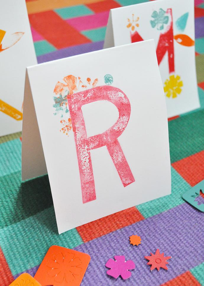 DIY Printed Place Cards