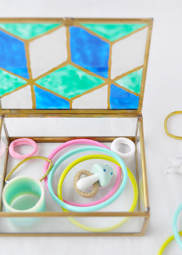 How to Paint Faux Stained Glass