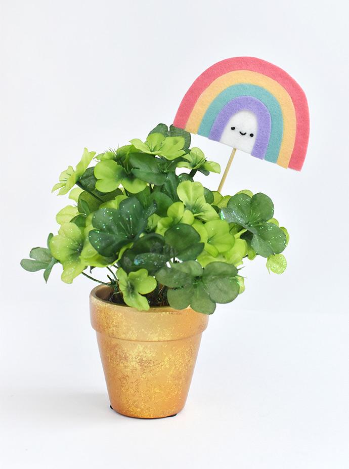 End of the Rainbow Plant Picks
