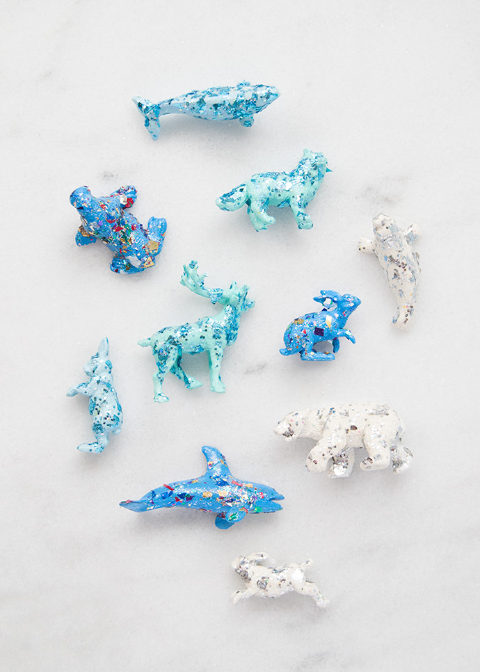 Make Your Own Glittery Arctic Play Set