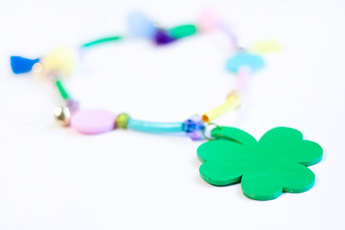 St Patrick's Day Lucky Necklace