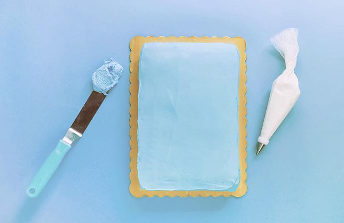 DIY Cloud Cake