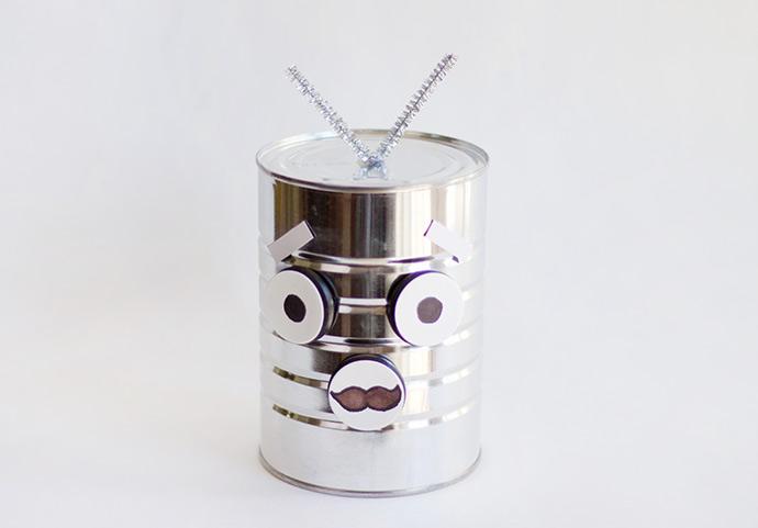 Mr Roboto Head Toy