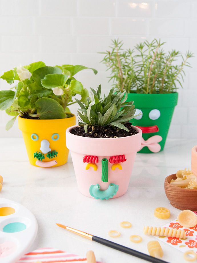 Father's Day Pasta Planters