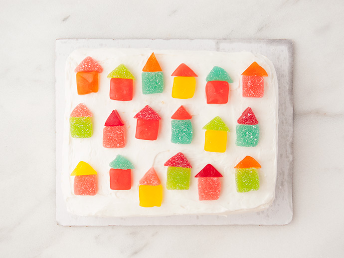 How to Decorate a Store-Bought Cake with Candy