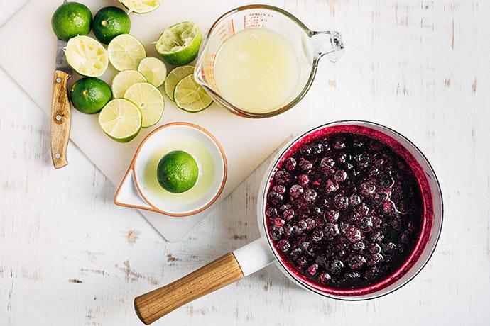Blueberry Limeade