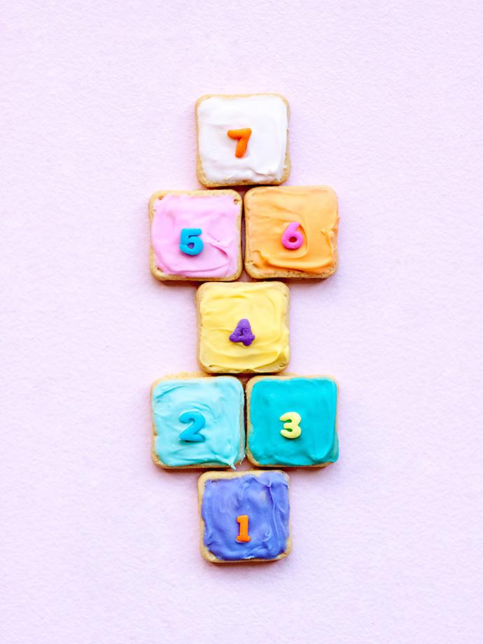 Hopscotch Cookie Treats