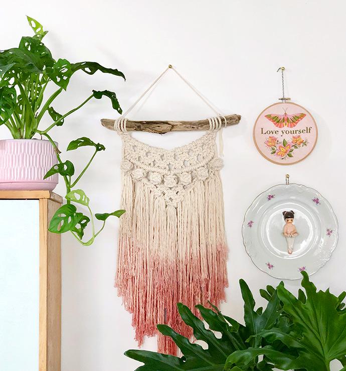 A Sneak Peak into an Embroidery Artist's Studio