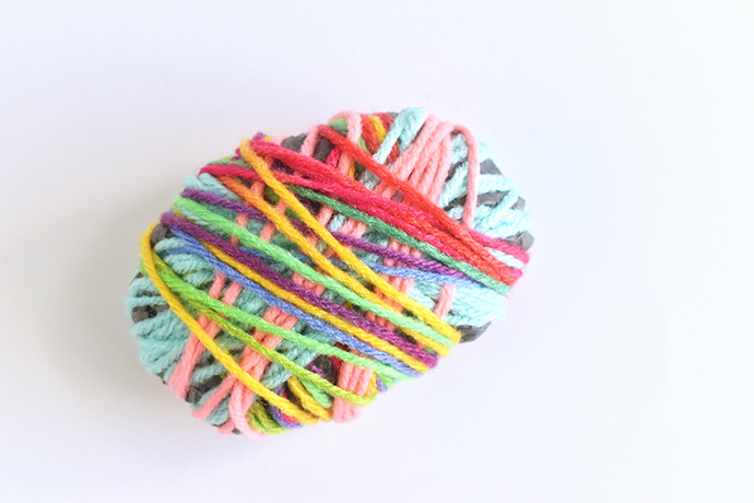 """Recycled Bag Wrapped """"Rocks"""""""