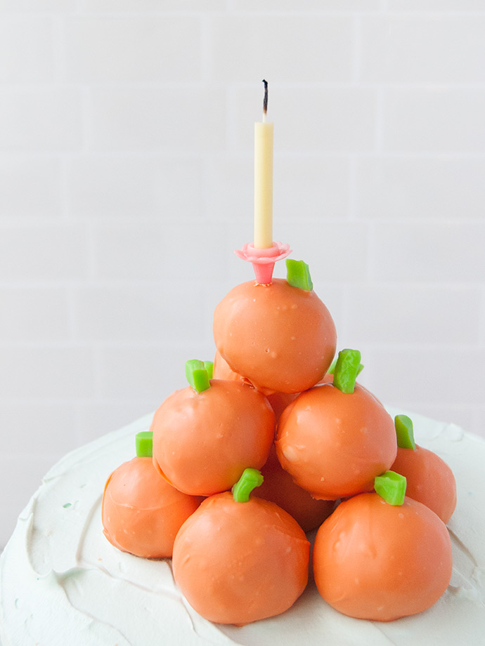 Pumpkin Patch Cake Toppers