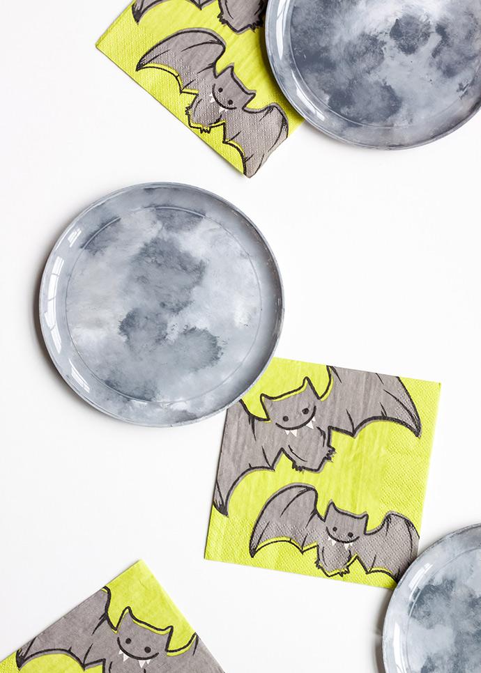 DIY Moon Plates