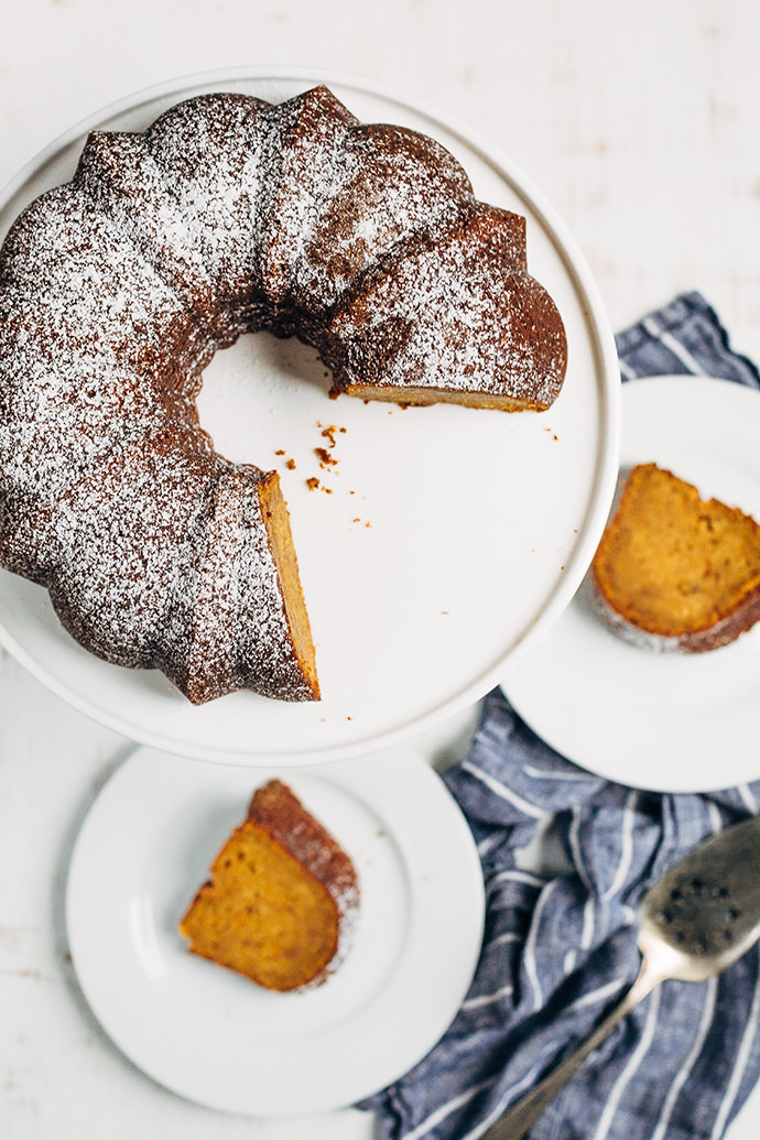 Spiced Butternut Squash Bundt Cake
