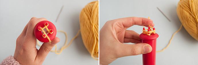 French Knit Pretzel Necklaces