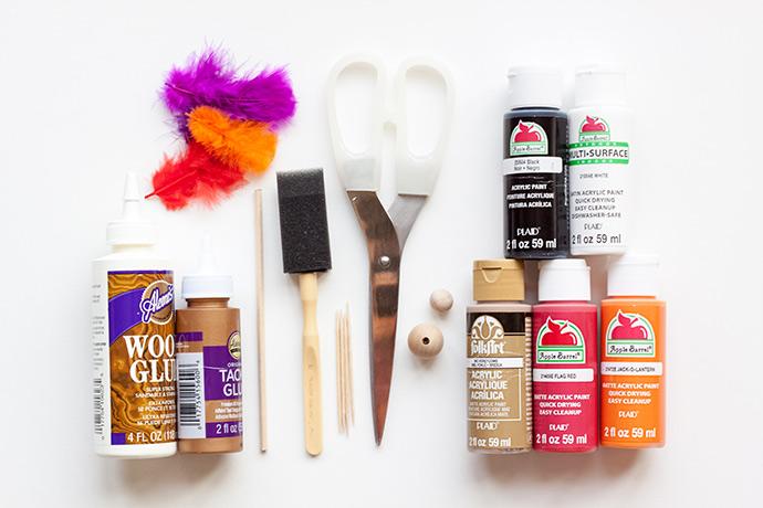 DIY Turkey Stir Sticks