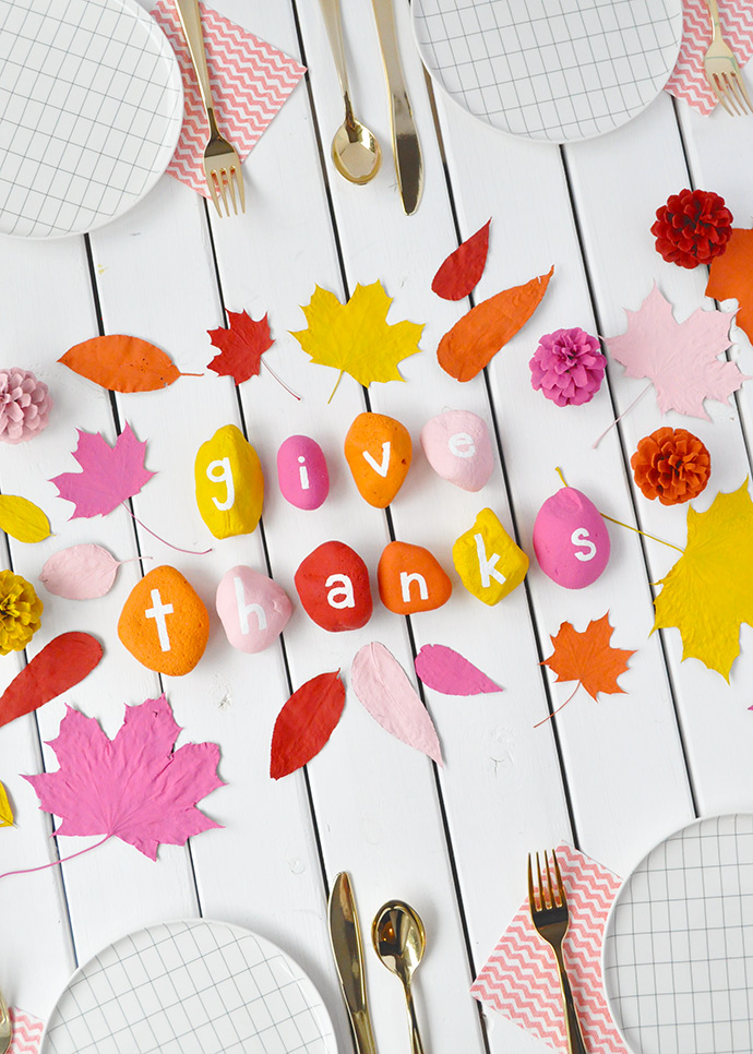 Thanksgiving Table Decor for Kids