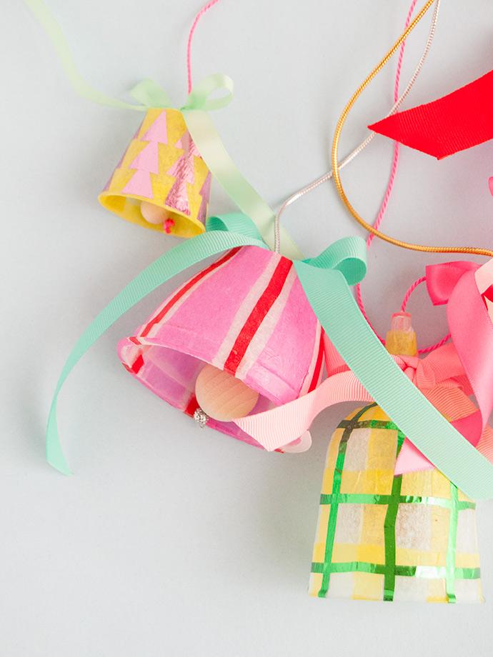 Mod Podge Christmas Bells